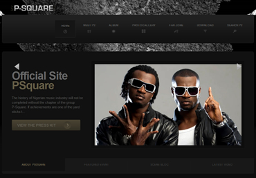 Psquare Official Website