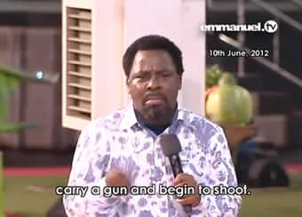 TB Joshua Prophesied Colorado Shooting
