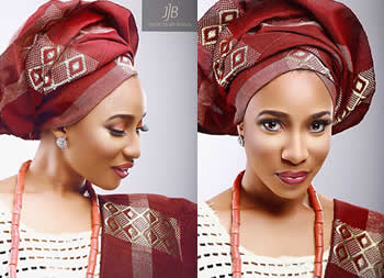 Most of us are used to yabbing Tonto Dikeh, but on this photo shoot