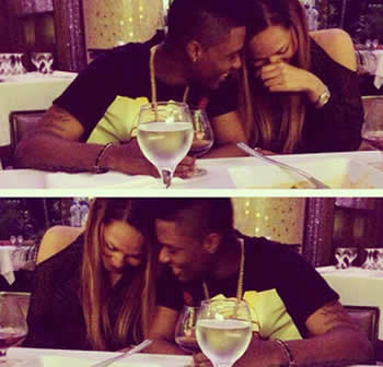 Wizkid and Girlfriend Tania Omotayo
