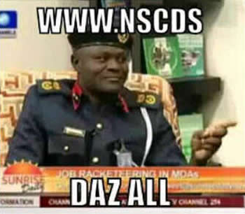 NSCDC Remix Video and Photos - My Oga At The Top